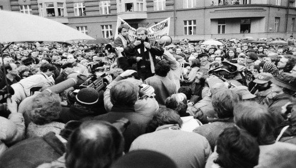 30th Anniversary of the Velvet Revolution Czechoslovakia